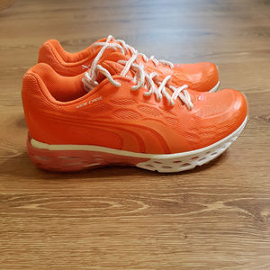 Puma Orange Athletic Shoes